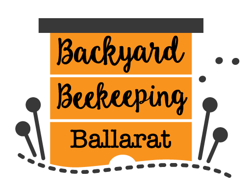 Backyard Beekeeping Ballarat Logo
